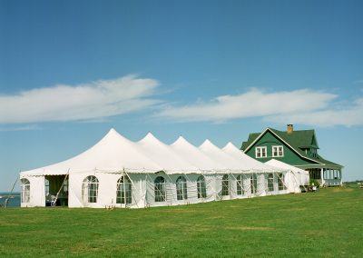 11.tent with house